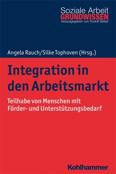 "Cover of the new volume ""Integration in the labour market"