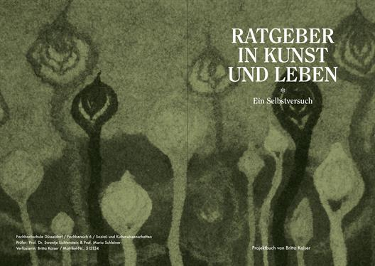 Cover of the thesis / Britta kaiser